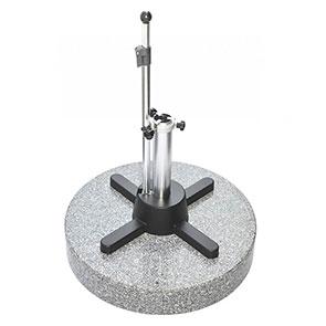 Granitständer LiRo Midi 70 grau mit flexibler Spannung