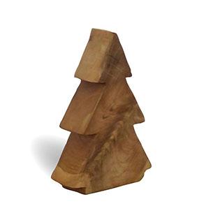 Teakholztannenbaum klein  - ca. 26 cm hoch