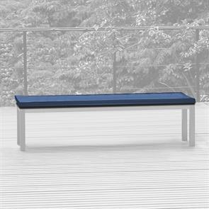 Bankauflage für Bank ohne Rückenlehne 180x45 cm Sunproof