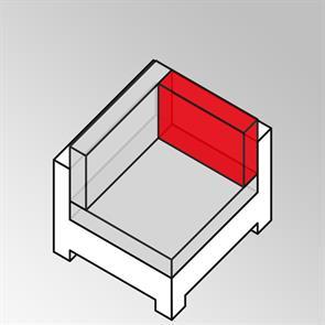 FLEXILounge Eckkissenerweiterung Sunproof 13 cm dick Nagata