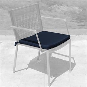 Tessin Sitzkissen Stapelstuhl mit u. ohne Armlehne 45x44x4cm SunProof