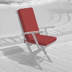 Sitzauflage mit Rückenpolster für Raffles Faltstuhl Nagata