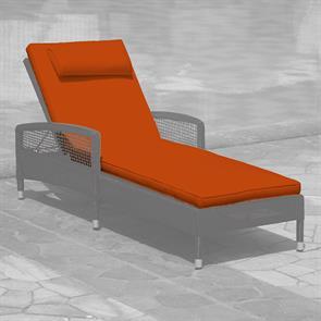 Liegenauflage für die  Lorraine Liege 198x70 cm Sunproof