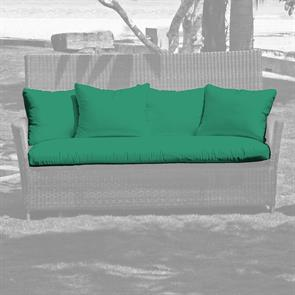 Auflagenset Lorraine Long Seat Sunproof inkl.4 Kissen 11 cm dick
