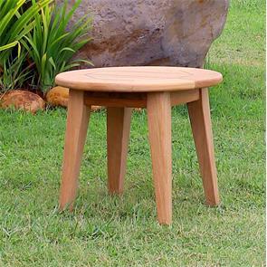 Piedra Beistelltisch rund 55 x 55 x 45 cm Teak