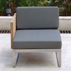 Tessin Lounge Seitenmodul rechts 78 x 83 x 67 cm