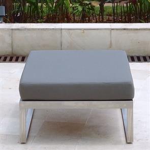 Tessin Lounge Hocker/Beistelltisch 74 x 79 x 29 cm