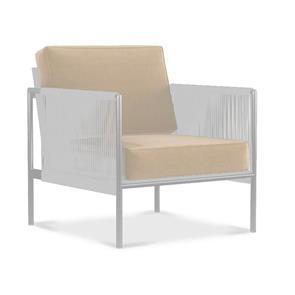 Auflagenset  Snix 1-Sitzer Sessel Sitz- u. Rückenkissen Sunproof 2-teilig