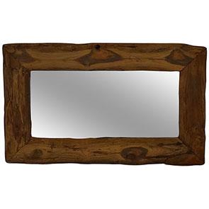 Spiegel mit Treibholzrahmen klein 100x60cm