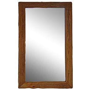 Spiegel mit Treibholzrahmen gross 180x 100cm