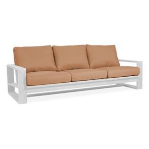 Trent Polsterset Lounge Sofa 3-Sitzer SunProof -  6-teilig - 3x Sitz- und 3x Rückenkissen