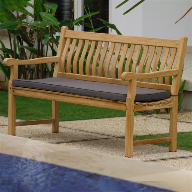 Florida Classic Gartenbank 150 cm - Zertifiziertes Teakholz GRADE A