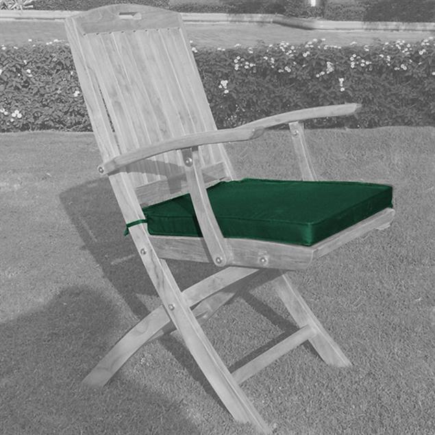 Sitzkissen Faltstuhl 45 x 40 cm Nagata für Comforteck, Denver, Trent Faltstuhl