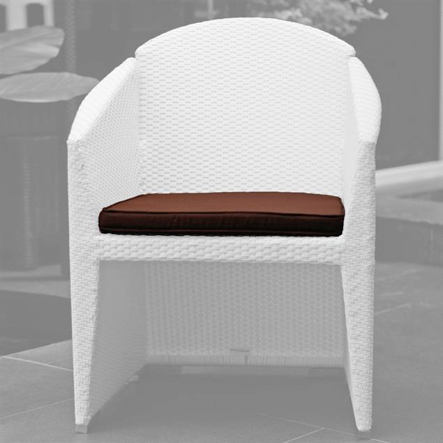 Sitzkissen Sefid Stuhl m.Armlehne Sunproof 51x50 für Sefid Dining Arm Chair