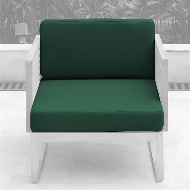 Tessin Polsterset Loungemodul für einen Sitz 12 cm dick Nagata 2-teilig