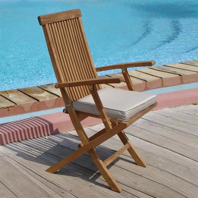 Sitzkissen für Raffles Faltstuhl 46x38 cm Nagata