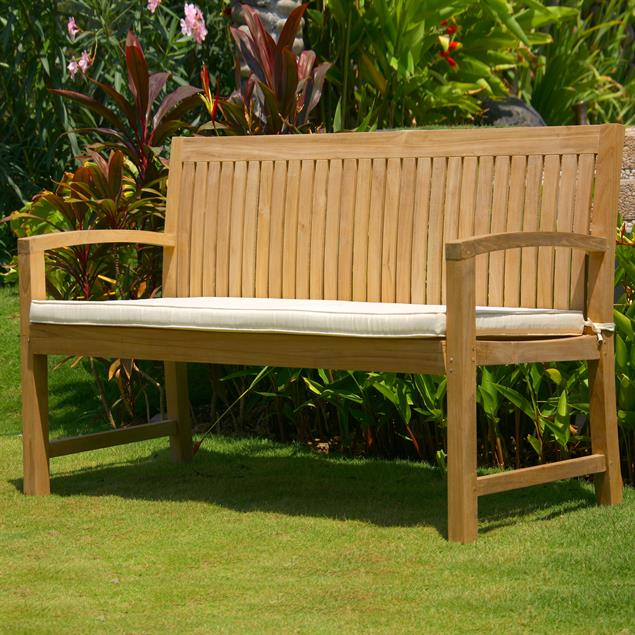 Elegance Gartenbank 150 cm Zertifiziertes Teakholz GRADE A