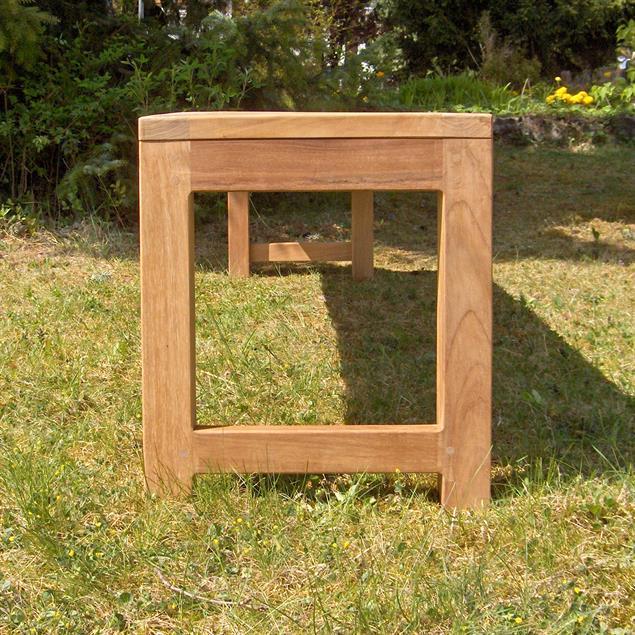 Hampton Gartenbank ohne Rückenlehne 200 cm Teak