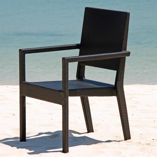 Sitzkissen Oasis Stapelstuhl 43 x 50 cm