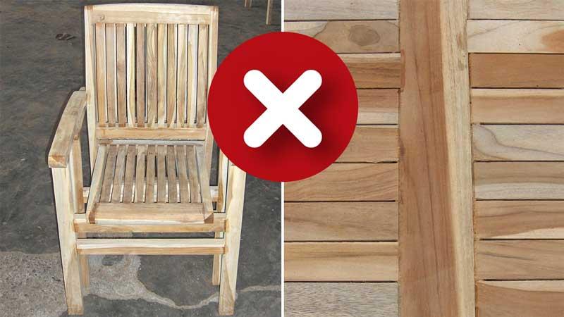 """Stuhl und Tischplatte """"Grade C"""""""
