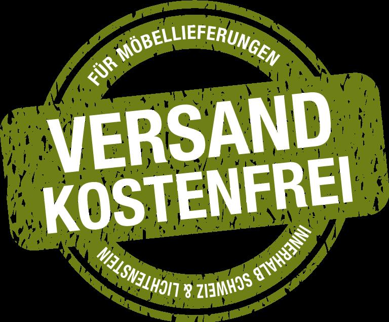 Versandkostenfreie Möbellieferung innerhalb der Schweiz und Lichtenstein